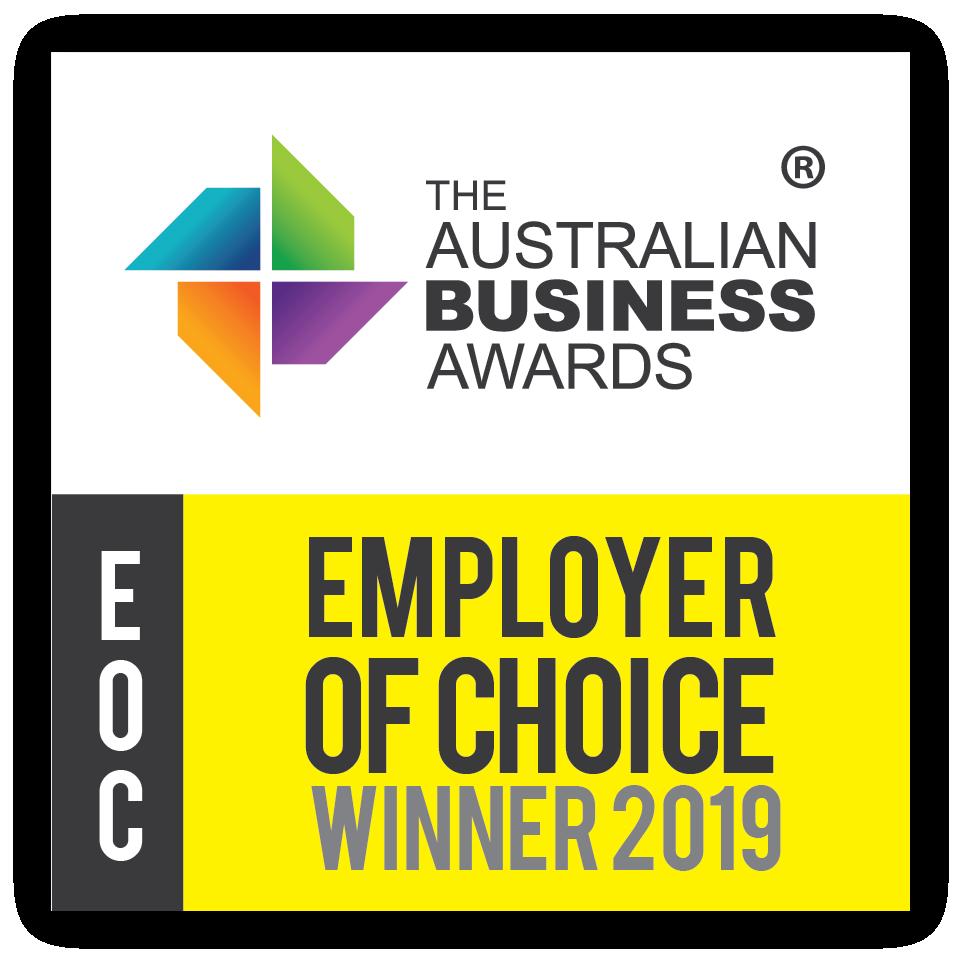 Employer of Choice Winner 2019