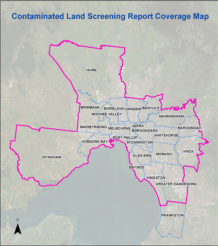 VIC Coverage Map