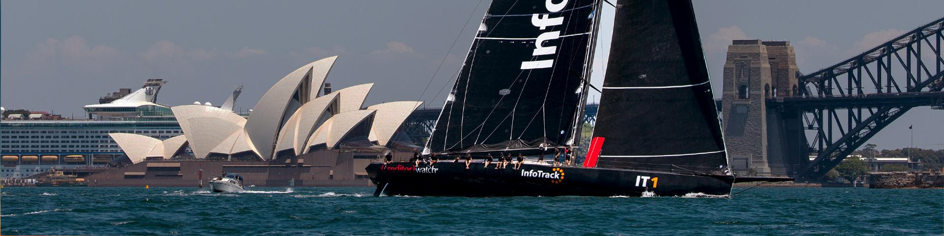 InfoTrack sails Sydney to Hobart
