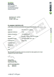 section 149 certificate example