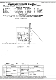 Sewer diagram infotrack sewer diagram ccuart Choice Image